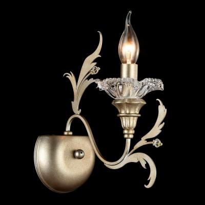 Бра Maytoni H108-01-NG CopertoФлористика<br><br><br>Тип лампы: накаливания / энергосбережения / LED-светодиодная<br>Тип цоколя: E14<br>Количество ламп: 1<br>MAX мощность ламп, Вт: 60<br>Диаметр, мм мм: 130<br>Высота, мм: 290<br>Цвет арматуры: золотой