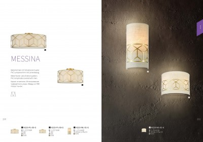 Светильник бра Maytoni H223-WL-02-G MessinaОжидается<br><br><br>Тип цоколя: E14<br>Цвет арматуры: золотой<br>Количество ламп: 2<br>Ширина, мм: 130<br>Диаметр, мм мм: 272<br>Оттенок (цвет): золотой<br>MAX мощность ламп, Вт: 40