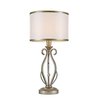 Настольная лампа Maytoni H235-TL-01-G FioreКлассические<br><br><br>Тип лампы: Накаливания / энергосбережения / светодиодная<br>Тип цоколя: E14<br>Цвет арматуры: Античный золотой<br>Количество ламп: 1<br>Диаметр, мм мм: 250<br>Высота, мм: 500<br>MAX мощность ламп, Вт: 40