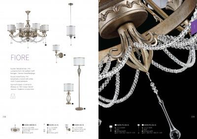 Торшер Maytoni H235-FL-01-G FioreОжидается<br><br><br>Тип цоколя: E27<br>Цвет арматуры: Античный  золотой<br>Количество ламп: 1<br>Глубина, мм: 360<br>Оттенок (цвет): Античный  золотой<br>MAX мощность ламп, Вт: 40