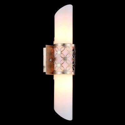 Светильник Maytoni H260-02-N House 3Современные<br><br><br>S освещ. до, м2: 5<br>Тип лампы: накаливания / энергосбережения / LED-светодиодная<br>Тип цоколя: E14<br>Количество ламп: 2<br>Ширина, мм: 120<br>MAX мощность ламп, Вт: 40<br>Выступ, мм: 110<br>Расстояние от стены, мм: 110<br>Высота, мм: 460<br>Цвет арматуры: золотой