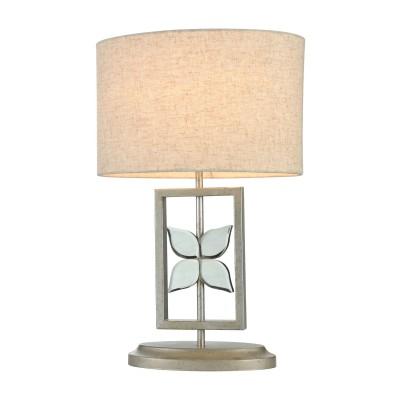 Настольная лампа Maytoni H351-TL-01-N MontanaСовременные<br><br><br>Тип лампы: Накаливания / энергосбережения / светодиодная<br>Тип цоколя: E27<br>Цвет арматуры: никель серебристый<br>Количество ламп: 1<br>Ширина, мм: 320<br>Глубина, мм: 210<br>Высота, мм: 492<br>MAX мощность ламп, Вт: 60