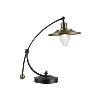 Настольная лампа Maytoni H353-TL-01-BZ SennaМорской стиль<br><br><br>Тип лампы: Накаливания / энергосбережения / светодиодная<br>Тип цоколя: E14<br>Цвет арматуры: бронзовый<br>Количество ламп: 1<br>Ширина, мм: 251<br>Глубина, мм: 442<br>Высота, мм: 564<br>MAX мощность ламп, Вт: 60