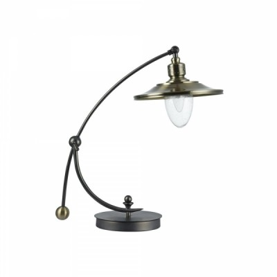 Настольная лампа Maytoni H353-TL-01-N SennaМорской стиль<br><br><br>Тип лампы: Накаливания / энергосбережения / светодиодная<br>Тип цоколя: E14<br>Цвет арматуры: никель серебристый<br>Количество ламп: 1<br>Ширина, мм: 251<br>Глубина, мм: 442<br>Высота, мм: 564<br>MAX мощность ламп, Вт: 60