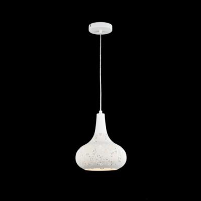 Подвесной светильник Maytoni H448-11-W NeridaОдиночные<br>Подвесной светильник – это универсальный вариант, подходящий для любой комнаты. Сегодня производители предлагают огромный выбор таких моделей по самым разным ценам. В каталоге интернет-магазина «Светодом» мы собрали большое количество интересных и оригинальных светильников по выгодной стоимости. Вы можете приобрести их в Москве, Екатеринбурге и любом другом городе России. <br>Подвесной светильник Maytoni H448-11-W сразу же привлечет внимание Ваших гостей благодаря стильному исполнению. Благородный дизайн позволит использовать эту модель практически в любом интерьере. Она обеспечит достаточно света и при этом легко монтируется. Чтобы купить подвесной светильник Maytoni H448-11-W, воспользуйтесь формой на нашем сайте или позвоните менеджерам интернет-магазина.<br><br>S освещ. до, м2: 3<br>Тип цоколя: E27<br>Количество ламп: 1<br>Диаметр, мм мм: 250<br>Высота, мм: 1503<br>MAX мощность ламп, Вт: 60