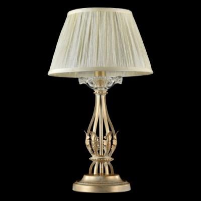 Настольная лампа Maytoni RC525-TL-01-G MargoКлассические<br>Настольная лампа – это не просто источник дополнительного освещения, но и оригинальный элемент декора. Его можно установить в спальне, гостиной, кабинете и других комнатах. Интернет-магазин «Светодом» предлагает настольные лампы разных стилей по доступным ценам. Благодаря большому ассортименту Вы обязательно найдете в нашем каталоге именно ту модель, которую искали. <br> Настольная лампа Maytoni RC525-TL-01-G – прекрасный вариант для завершения интерьера. Ее можно включить одновременно с люстрой для более яркого освещения или без нее для создания уютной атмосферы, настраивающей на отдых. <br> Купить настольную лампу Maytoni RC525-TL-01-G Вы можете с помощью виртуальной «Корзины» или по контактным номерам, указанным на сайте.<br><br>Тип цоколя: E14<br>Количество ламп: 1<br>Диаметр, мм мм: 255<br>Высота, мм: 460<br>MAX мощность ламп, Вт: 40