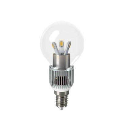 Лампа Gauss LED P45 Globe Crystal clear 5W E14 2700K HA105201105-DВ виде шарика<br><br><br>Тип товара: лампа светодиодная LED<br>Тип лампы: LED - светодиодная<br>Тип цоколя: E14<br>MAX мощность ламп, Вт: 5