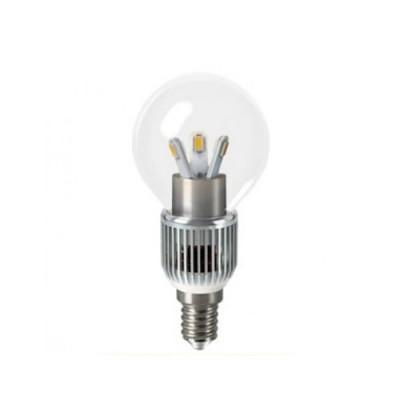 Лампа Gauss HA105201205-D LED P45 Globe Crystal clear 5W E14 4100KВ виде шарика<br><br><br>Тип товара: лампа светодиодная LED<br>Цветовая t, К: CW - холодный белый 4000 К<br>Тип лампы: LED - светодиодная<br>Тип цоколя: E14<br>MAX мощность ламп, Вт: 5<br>Диаметр, мм мм: 40<br>Высота, мм: 95