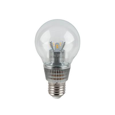 Лампа Gauss HA105202107-D LED P45 Globe Crystal Clear 7W E27 2700KВ виде шарика<br><br><br>Тип товара: лампа светодиодная LED<br>Цветовая t, К: WW - теплый белый 2700-3000 К<br>Тип лампы: LED - светодиодная<br>Тип цоколя: E27<br>MAX мощность ламп, Вт: 7<br>Диаметр, мм мм: 55<br>Высота, мм: 102