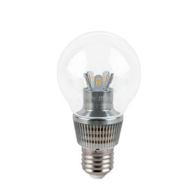 Лампа Gauss LED P45 Globe Crystal Clear 7W E27 2700K HA105202107В виде шарика<br><br><br>Тип товара: лампа светодиодная LED<br>Тип лампы: LED - светодиодная<br>Тип цоколя: E27<br>MAX мощность ламп, Вт: 7