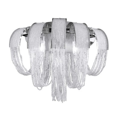 Светильник настенный бра Crystal lux HEAT AP2 CRYSTAL 1971/402Современные<br><br><br>Тип цоколя: G9<br>Цвет арматуры: Серебристый Серебристый хром<br>Количество ламп: 2<br>Ширина, мм: 125<br>Длина, мм: 300<br>Высота, мм: 220<br>MAX мощность ламп, Вт: 60