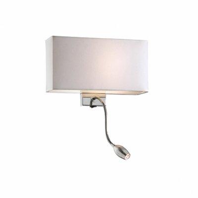 Купить Светильник бра Ideal Lux HOTEL AP2 BIANCO, Италия
