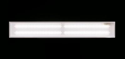 Потолочный светодиодный светильник ABERLICHT-TR 35/120 600 NW технический светСветодиодные LED<br>ABERLICHT-TR 35/120 600 NW, светильник в классической схеме. Создан для подвесных потолков типа армстронг, также может быть использован в качестве накладного варианта.<br>220 В/28 Вт/3800Лм/120°/5000К/IP40<br> габаритный размер светильника 595*180<br><br>S освещ. до, м2: 21<br>Тип лампы: Светодиодная<br>Количество ламп: 8<br>Ширина, мм: 180мм<br>MAX мощность ламп, Вт: 33<br>Длина, мм: 595мм<br>Высота, мм: 30мм<br>Цвет арматуры: Белый