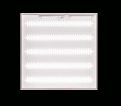 Потолочный светодиодный светильник ABERLICHT-AC 60/120 PR NW технический светLED светодиодные<br>ABERLICHT-AC 60/120 PR NW, светильник в классической схеме. Создан для подвесных потолков типа армстронг, также может быть использован в качестве накладного варианта.<br>220 В/78Вт/9200Лм/120°/5000К/IP40<br>габаритный размер светильника 595*595*30, 150 светодиодов, 5 планок<br><br>S освещ. до, м2: 13<br>Тип лампы: Светодиодная<br>Количество ламп: 6<br>Ширина, мм: 595мм<br>MAX мощность ламп, Вт: 33<br>Длина, мм: 595мм<br>Высота, мм: 30мм<br>Цвет арматуры: Белый