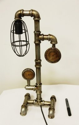 XYT9202 Светильник настольный Водопровод, 25x18x54CM, металлПодарки и сувениры<br><br>