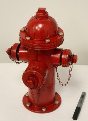 CJ13100 Сувенир Пожарный гидрант, 23*21*37см, металлПодарки и сувениры<br><br>