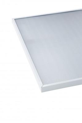 Потолочный светодиодный светильник ABERLICHT-AC 20/120 PR NW 595x595 технический светLED светодиодные<br>ABERLICHT-AC 20/120 PR NW, светильник в классической схеме. Создан для подвесных потолков типа армстронг, также может быть использован в качестве накладного варианта.<br>220 В/20Вт/2800Лм/120°/5000К/IP40<br> габаритные размеры светильника 595*595*30, 90 светодиодов, 3 планки<br><br>Тип лампы: Светодиодная<br>Ширина, мм: 595мм<br>MAX мощность ламп, Вт: 20<br>Высота, мм: 30мм<br>Цвет арматуры: Белый