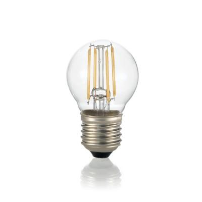Лампочка Ideal lux LED CLASSIC E27 4W SFERA TRASPARENTE 3000KОжидается<br><br><br>Цветовая t, К: 3000<br>Тип цоколя: E27<br>MAX мощность ламп, Вт: 4