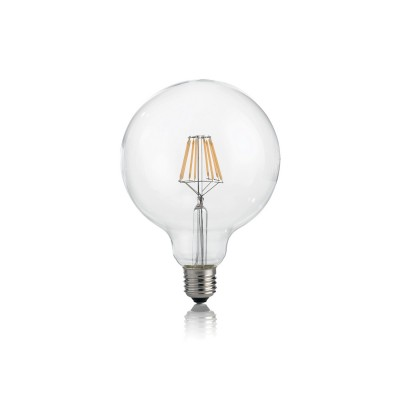 Лампочка Ideal lux LED CLASSIC E27 8W GLOBO D125 TRASPARENTE 3000KОжидается<br><br><br>Цветовая t, К: 3000<br>Тип цоколя: E27<br>MAX мощность ламп, Вт: 8