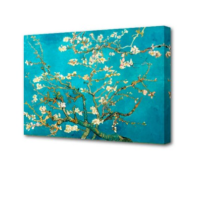 Постер на стену Сакура J-1021H ToppostersПостеры на стену<br>Габариты: 50х70х2 см. Состав: Холст, подрамник из МДФ. Упаковка: Защитные уголки и термоусадочная пленка, размер 51х71х2,5 см.<br>