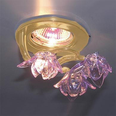 Светильник встраиваемый JS011P Helio Light золотоКруглые<br><br><br>S освещ. до, м2: до 2<br>Скидка, %: 19<br>Тип лампы: галогенная<br>Тип цоколя: GX5.3<br>MAX мощность ламп, Вт: 50W<br>Диаметр врезного отверстия, мм: 65<br>Оттенок (цвет): розовый<br>Цвет арматуры: Золото