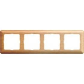 Рамка Wessen 59 с/у четырехместная сосна (KD-4-78)Сосна<br><br><br>Оттенок (цвет): под дерево