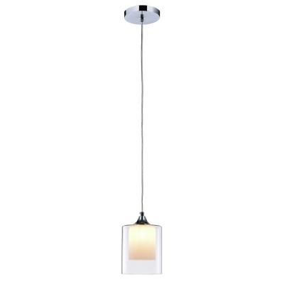 Подвес Lamplandia L1028-1 Annikaодиночные подвесные светильники<br>Вид светильника: потолочный<br>Размер: 12 x 12 x 120<br>Мощность: 1*G9*40W<br>Материал: Метал, Стекло<br><br>S освещ. до, м2: 2<br>Крепление: потолочный<br>Тип лампы: галогенная/LED<br>Тип цоколя: G9<br>Цвет арматуры: серебристый хром<br>Количество ламп: 1<br>Диаметр, мм мм: 120<br>Высота, мм: 1200<br>MAX мощность ламп, Вт: 40