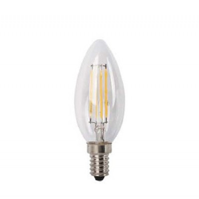 Mw light Лампа LBMW14C03 Светодиодная лампаВ виде свечи<br><br><br>Тип лампы: LED<br>Тип цоколя: E14<br>MAX мощность ламп, Вт: 4