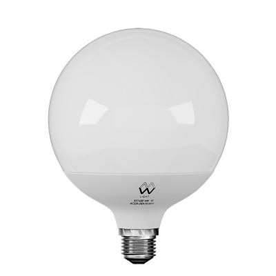 Лампа шар Mw-light LBMW27G02 G120В виде шара<br><br><br>Цветовая t, К: 2700<br>Тип лампы: LED<br>Тип цоколя: E27<br>MAX мощность ламп, Вт: 14<br>Диаметр, мм мм: 120<br>Высота, мм: 160