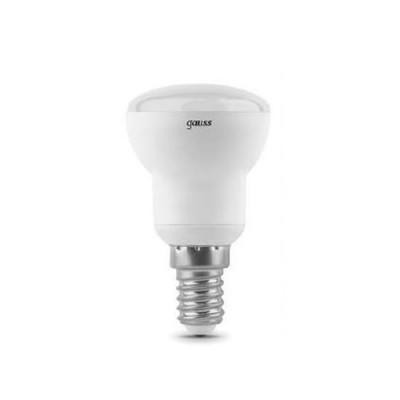Лампа Gauss LED Reflector R39 E14 4W 2700KЗеркальные E27, E14<br><br><br>Цветовая t, К: WW - теплый белый 2700-3000 К<br>Тип лампы: LED - светодиодная<br>Тип цоколя: E14<br>MAX мощность ламп, Вт: 4<br>Диаметр, мм мм: 40<br>Высота, мм: 80