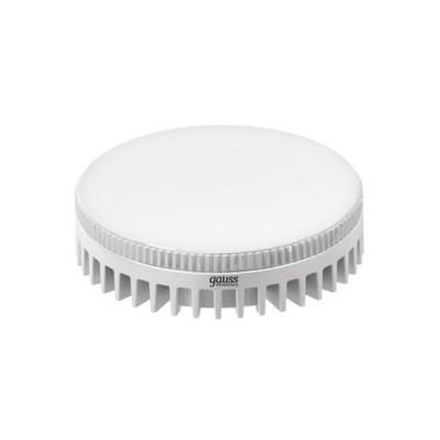 Лампа Gauss LED GX53 6W 2700KС цоколем GX53<br><br><br>Цветовая t, К: WW - теплый белый 2700-3000 К<br>Тип лампы: LED - светодиодная<br>Тип цоколя: GX53<br>MAX мощность ламп, Вт: 6<br>Диаметр, мм мм: 75<br>Высота, мм: 27