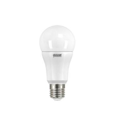 Лампа Gauss LED Elementary A60 12W E27 4100K/40Стандартный вид<br>В интернет-магазине «Светодом» можно купить не только люстры и светильники, но и лампочки. В нашем каталоге представлены светодиодные, галогенные, энергосберегающие модели и лампы накаливания. В ассортименте имеются изделия разной мощности, поэтому у нас Вы сможете приобрести все необходимое для освещения.   Лампа Gauss LD23222 LED Elementary A60 12W E27 4100K обеспечит отличное качество освещения. При покупке ознакомьтесь с параметрами в разделе «Характеристики», чтобы не ошибиться в выборе. Там же указано, для каких осветительных приборов Вы можете использовать лампу Gauss LD23222 LED Elementary A60 12W E27 4100KGauss LD23222 LED Elementary A60 12W E27 4100K.   Для оформления покупки воспользуйтесь «Корзиной». При наличии вопросов Вы можете позвонить нашим менеджерам по одному из контактных номеров. Мы доставляем заказы в Москву, Екатеринбург и другие города России.<br><br>Цветовая t, К: CW - холодный белый 4000 К<br>Тип лампы: LED - светодиодная<br>Тип цоколя: E27<br>MAX мощность ламп, Вт: 12<br>Диаметр, мм мм: 60<br>Высота, мм: 125