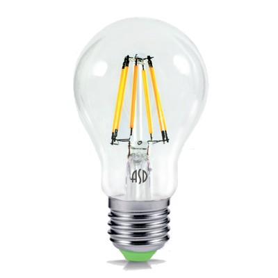 Лампа светодиодная LED-A60-PREMIUM 6Вт 160-260В Е27 3000К 540Лм прозрачная ASDСтандартный вид<br>В интернет-магазине «Светодом» можно купить не только люстры и светильники, но и лампочки. В нашем каталоге представлены светодиодные, галогенные, энергосберегающие модели и лампы накаливания. В ассортименте имеются изделия разной мощности, поэтому у нас Вы сможете приобрести все необходимое для освещения.   Лампа LED-A60-PREMIUM 6Вт 160-260В Е27 3000К 540Лм прозрачная ASD обеспечит отличное качество освещения. При покупке ознакомьтесь с параметрами в разделе «Характеристики», чтобы не ошибиться в выборе. Там же указано, для каких осветительных приборов Вы можете использовать лампу LED-A60-PREMIUM 6Вт 160-260В Е27 3000К 540Лм прозрачная ASDLED-A60-PREMIUM 6Вт 160-260В Е27 3000К 540Лм прозрачная ASD.   Для оформления покупки воспользуйтесь «Корзиной». При наличии вопросов Вы можете позвонить нашим менеджерам по одному из контактных номеров. Мы доставляем заказы в Москву, Екатеринбург и другие города России.<br><br>Цветовая t, К: 3000<br>Тип лампы: LED<br>Тип цоколя: E27<br>MAX мощность ламп, Вт: 6<br>Диаметр, мм мм: 60<br>Высота, мм: 107