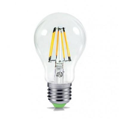 Лампа светодиодная LED-A60-deco 5Вт 230В Е27 3000К 450Лм прозрачная IN HOMEРетро стиля<br><br><br>Цветовая t, К: WW - теплый белый 2700-3000 К (3000)<br>Тип лампы: LED<br>Тип цоколя: E27<br>MAX мощность ламп, Вт: 5
