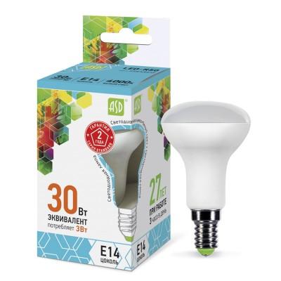 Лампа светодиодная LED-R50-standard 5.0Вт 160-260В Е14 4000К ASDЗеркальные E27, E14<br>В интернет-магазине «Светодом» можно купить не только люстры и светильники, но и лампочки. В нашем каталоге представлены светодиодные, галогенные, энергосберегающие модели и лампы накаливания. В ассортименте имеются изделия разной мощности, поэтому у нас Вы сможете приобрести все необходимое для освещения.   Лампа LED-R50-standard 5.0Вт 160-260В Е14 4000К ASD обеспечит отличное качество освещения. При покупке ознакомьтесь с параметрами в разделе «Характеристики», чтобы не ошибиться в выборе. Там же указано, для каких осветительных приборов Вы можете использовать лампу LED-R50-standard 5.0Вт 160-260В Е14 4000К ASDLED-R50-standard 5.0Вт 160-260В Е14 4000К ASD.   Для оформления покупки воспользуйтесь «Корзиной». При наличии вопросов Вы можете позвонить нашим менеджерам по одному из контактных номеров. Мы доставляем заказы в Москву, Екатеринбург и другие города России.<br><br>Цветовая t, К: 4000<br>Тип лампы: LED<br>Тип цоколя: E14<br>Диаметр, мм мм: 40<br>Высота, мм: 80<br>MAX мощность ламп, Вт: 5