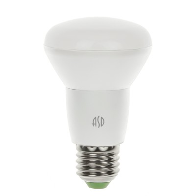 Лампа светодиодная LED-R63-standard 8.0Вт 160-260В Е27 4000К ASDЗеркальные светодиодные лампы<br>В интернет-магазине «Светодом» можно купить не только люстры и светильники, но и лампочки. В нашем каталоге представлены светодиодные, галогенные, энергосберегающие модели и лампы накаливания. В ассортименте имеются изделия разной мощности, поэтому у нас Вы сможете приобрести все необходимое для освещения.   Лампа LED-R63-standard 8.0Вт 160-260В Е27 4000К ASD обеспечит отличное качество освещения. При покупке ознакомьтесь с параметрами в разделе «Характеристики», чтобы не ошибиться в выборе. Там же указано, для каких осветительных приборов Вы можете использовать лампу LED-R63-standard 8.0Вт 160-260В Е27 4000К ASDLED-R63-standard 8.0Вт 160-260В Е27 4000К ASD.   Для оформления покупки воспользуйтесь «Корзиной». При наличии вопросов Вы можете позвонить нашим менеджерам по одному из контактных номеров. Мы доставляем заказы в Москву, Екатеринбург и другие города России.<br><br>Цветовая t, К: CW - холодный белый 4000 К<br>Тип лампы: LED<br>Тип цоколя: E27<br>Диаметр, мм мм: 63<br>Высота, мм: 102<br>MAX мощность ламп, Вт: 8