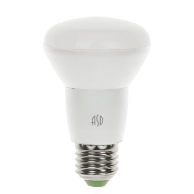 Лампа светодиодная LED-R63-standard 5.0Вт 160-260В Е27 3000К ASDЗеркальные E27, E14<br>В интернет-магазине «Светодом» можно купить не только люстры и светильники, но и лампочки. В нашем каталоге представлены светодиодные, галогенные, энергосберегающие модели и лампы накаливания. В ассортименте имеются изделия разной мощности, поэтому у нас Вы сможете приобрести все необходимое для освещения.   Лампа LED-R63-standard 5.0Вт 160-260В Е27 3000К ASD обеспечит отличное качество освещения. При покупке ознакомьтесь с параметрами в разделе «Характеристики», чтобы не ошибиться в выборе. Там же указано, для каких осветительных приборов Вы можете использовать лампу LED-R63-standard 5.0Вт 160-260В Е27 3000К ASDLED-R63-standard 5.0Вт 160-260В Е27 3000К ASD.   Для оформления покупки воспользуйтесь «Корзиной». При наличии вопросов Вы можете позвонить нашим менеджерам по одному из контактных номеров. Мы доставляем заказы в Москву, Екатеринбург и другие города России.<br><br>Цветовая t, К: 3000<br>Тип лампы: LED<br>Тип цоколя: E27<br>MAX мощность ламп, Вт: 5<br>Диаметр, мм мм: 63<br>Высота, мм: 102
