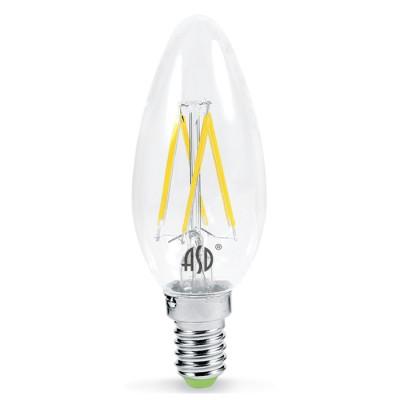 Лампа светодиодная LED-СВЕЧА-PREMIUM 5.0Вт 160-260В Е27 3000К 450Лм прозрачная ASDВ виде свечи<br>В интернет-магазине «Светодом» можно купить не только люстры и светильники, но и лампочки. В нашем каталоге представлены светодиодные, галогенные, энергосберегающие модели и лампы накаливания. В ассортименте имеются изделия разной мощности, поэтому у нас Вы сможете приобрести все необходимое для освещения.   Лампа LED-СВЕЧА-PREMIUM 5.0Вт 160-260В Е27 3000К 450Лм прозрачная ASD обеспечит отличное качество освещения. При покупке ознакомьтесь с параметрами в разделе «Характеристики», чтобы не ошибиться в выборе. Там же указано, для каких осветительных приборов Вы можете использовать лампу LED-СВЕЧА-PREMIUM 5.0Вт 160-260В Е27 3000К 450Лм прозрачная ASDLED-СВЕЧА-PREMIUM 5.0Вт 160-260В Е27 3000К 450Лм прозрачная ASD.   Для оформления покупки воспользуйтесь «Корзиной». При наличии вопросов Вы можете позвонить нашим менеджерам по одному из контактных номеров. Мы доставляем заказы в Москву, Екатеринбург и другие города России.<br><br>Цветовая t, К: 3000<br>Тип лампы: LED<br>Тип цоколя: E27<br>Диаметр, мм мм: 35<br>Высота, мм: 98<br>MAX мощность ламп, Вт: 5