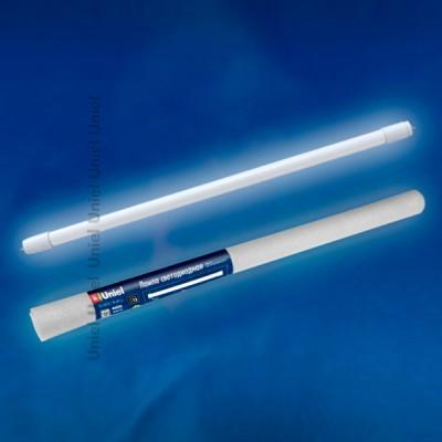 Лампа UNIEL LED-T8-10W/NW/G13/FR рукавС цоколем G13<br>В интернет-магазине «Светодом» можно купить не только люстры и светильники, но и лампочки. В нашем каталоге представлены светодиодные, галогенные, энергосберегающие модели и лампы накаливания. В ассортименте имеются изделия разной мощности, поэтому у нас Вы сможете приобрести все необходимое для освещения.   Лампа UNIEL LED-T8-10W/NW/G13/FR рукав обеспечит отличное качество освещения. При покупке ознакомьтесь с параметрами в разделе «Характеристики», чтобы не ошибиться в выборе. Там же указано, для каких осветительных приборов Вы можете использовать лампу UNIEL LED-T8-10W/NW/G13/FR рукавUNIEL LED-T8-10W/NW/G13/FR рукав.   Для оформления покупки воспользуйтесь «Корзиной». При наличии вопросов Вы можете позвонить нашим менеджерам по одному из контактных номеров. Мы доставляем заказы в Москву, Екатеринбург и другие города России.<br><br>Цветовая t, К: 4000<br>Тип лампы: LED - светодиодная<br>Тип цоколя: G13<br>Диаметр, мм мм: 25.5<br>Длина, мм: 600<br>MAX мощность ламп, Вт: 10