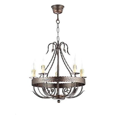 Luminex LOARA 746 потолочный светильниклюстры подвесные классические<br><br><br>Установка на натяжной потолок: Да<br>S освещ. до, м2: 15<br>Крепление: Потолочное<br>Тип цоколя: E27<br>Цвет арматуры: бронзовый<br>Количество ламп: 5<br>Диаметр, мм мм: 500<br>Размеры: размер коробки 44x52x52см.<br>Высота, мм: 760<br>MAX мощность ламп, Вт: 60