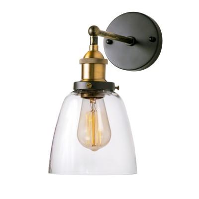 Настенная бра Loft it 1122Wбра в стиле лофт<br><br><br>Тип лампы: Накаливания / энергосбережения / светодиодная<br>Тип цоколя: E27<br>Количество ламп: 1<br>MAX мощность ламп, Вт: 60