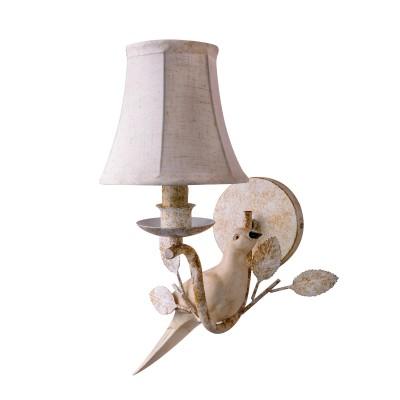 Настенный светильник LOFT 8138-1WФлористика<br><br><br>Тип лампы: Накаливания / энергосбережения / светодиодная<br>Тип цоколя: E14<br>Количество ламп: 1<br>Ширина, мм: 220<br>Высота, мм: 320<br>MAX мощность ламп, Вт: 60