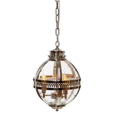 Ретро светильник Loft it 3043-CHподвесные люстры лофт<br><br><br>Тип лампы: Накаливания / энергосбережения / светодиодная<br>Тип цоколя: E14<br>Цвет арматуры: серебристый<br>Количество ламп: 3
