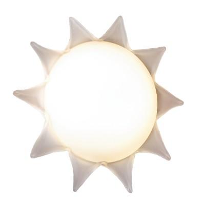 Светильник Lussole LSA-1142-02 белыйДетские<br>Настенно потолочный светильник Lussole (Люссоль) LSA-1142-02 подходит как для установки в вертикальном положении - на стены, так и для установки в горизонтальном - на потолок. Для установки настенно потолочных светильников на натяжной потолок необходимо использовать светодиодные лампы LED, которые экономнее ламп Ильича (накаливания) в 10 раз, выделяют мало тепла и не дадут расплавиться Вашему потолку.<br><br>S освещ. до, м2: 8<br>Тип лампы: накаливания / энергосбережения / LED-светодиодная<br>Тип цоколя: E27<br>Количество ламп: 2<br>MAX мощность ламп, Вт: 40<br>Диаметр, мм мм: 360<br>Расстояние от стены, мм: 130<br>Оттенок (цвет): белый<br>Цвет арматуры: белый