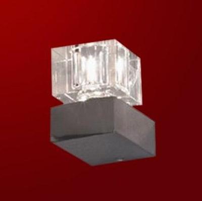 Светильник Lussole LSA-1301-01 Grosseto хромСовременные<br>Универсальный дизайн настенного светильника LUSSOLE LSA-1301-01 GROSSETO позволяет установить его и плафоном верх, что показано на изображении, и вниз, в зависимости от потребностей интерьера и зоны освещения. Современная «геометрическая» конструкция делает его желанным приобретением для любого интерьера в стиле «модерн» или «хай-тек». Светильник можно использовать как отдельно, так и совместно с другими продуктами из этой серии, он будет превосходно смотреться и в том и в другом варианте!<br><br>S освещ. до, м2: 3<br>Тип лампы: галогенная / LED-светодиодная<br>Тип цоколя: G9<br>Количество ламп: 1<br>Ширина, мм: 90<br>MAX мощность ламп, Вт: 40<br>Расстояние от стены, мм: 130<br>Высота, мм: 120<br>Оттенок (цвет): кристальный<br>Цвет арматуры: серебристый
