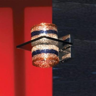 Светильник Lussole LSA-2201-02 Vimini хромСовременные<br>LSA-2201-02<br><br>S освещ. до, м2: 5<br>Тип лампы: галогенная / LED-светодиодная<br>Тип цоколя: G9<br>Количество ламп: 2<br>Ширина, мм: 120<br>MAX мощность ламп, Вт: 40<br>Расстояние от стены, мм: 130<br>Высота, мм: 160<br>Оттенок (цвет): разноцветный<br>Цвет арматуры: серебристый хром
