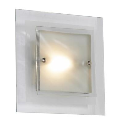 Светильник Lussole LSA-2602-01 Treviso никельКвадратные<br>Настенно-потолочный светильник Lussole LSA-2602-01 является прекрасным дополнением для насыщения любого интерьера сиянием. Возможность крепления изделия на вертикальную или горизонтальную поверхность расширяет возможности оформления пространства. Ко всему прочему, перед Вами ультрасовременный стиль хай-тек, наполненный чёткой геометрией и многогранностью. Настенно-потолочный светильник Lussole LSA-2602-01 может выступать, как самостоятельное изделие, так и быть в тандеме с другими. Вы приобретаете творение в огранке из прозрачного/матового стекла и мерцающего металла, исполненных в форме строгого квадрата. Это свежесть, минимализм и непритязательность сияния в интерьере!<br><br>S освещ. до, м2: 7<br>Тип лампы: галогенная / LED-светодиодная<br>Тип цоколя: R7S<br>Количество ламп: 1<br>Ширина, мм: 300<br>MAX мощность ламп, Вт: 100<br>Длина, мм: 300<br>Расстояние от стены, мм: 90<br>Оттенок (цвет): белый<br>Цвет арматуры: серый