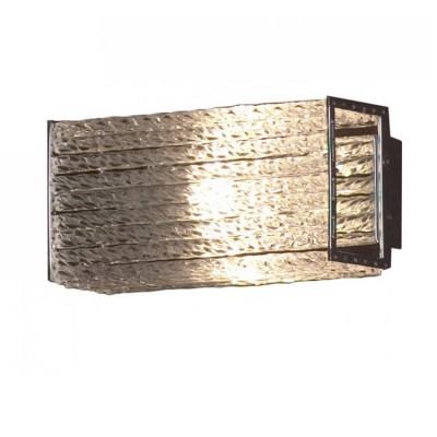 Светильник Lussole LSA-5401-01Прямоугольные<br>Элегантный настенно-потолочный светильник Lussole LSA-5401-01 станет прекрасным дополнением к интерьеру! «Строгая» прямоугольная форма, как будто вырезанная из цельного кристалла, отсутствие «утяжеляющих» конструкцию декоративных элементов,  металлическая «окантовка» плафона идеально подойдут к «минималистичному» оформлению комнаты. Наиболее выигрышно светильник будет функционировать в качестве подсветки «сверху-вниз» или «снизу-вверх», например, настенного зеркала, стеклянной полки, комода и т.п.<br><br>S освещ. до, м2: 2<br>Тип лампы: галогенная / LED-светодиодная<br>Тип цоколя: G9<br>Количество ламп: 1<br>Ширина, мм: 190<br>MAX мощность ламп, Вт: 40<br>Расстояние от стены, мм: 90<br>Высота, мм: 90