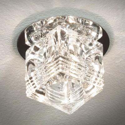 Купить со скидкой Светильник Lussole LSA-7980-01 Downlights хром