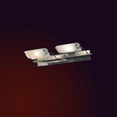 Светильник Lussole LSA-8001-02 JeSolo хромСовременные<br>LSA-8001-02<br><br>S освещ. до, м2: 6<br>Тип лампы: галогенная<br>Тип цоколя: G9<br>Количество ламп: 2<br>Ширина, мм: 310<br>MAX мощность ламп, Вт: 50<br>Расстояние от стены, мм: 210<br>Высота, мм: 60<br>Оттенок (цвет): матовый белый<br>Цвет арматуры: серебристый хром